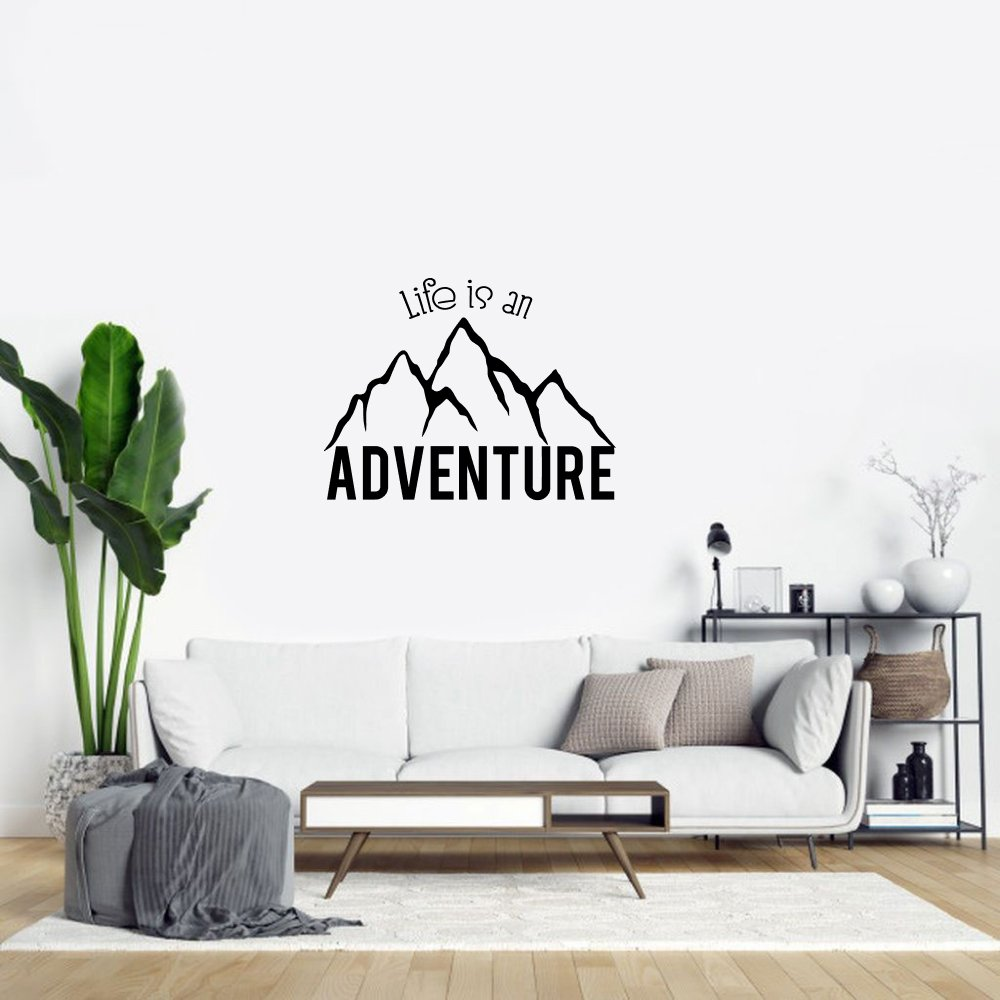Muursticker – Life is an adventure