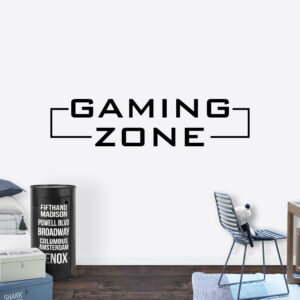 Muursticker - Gaming zone